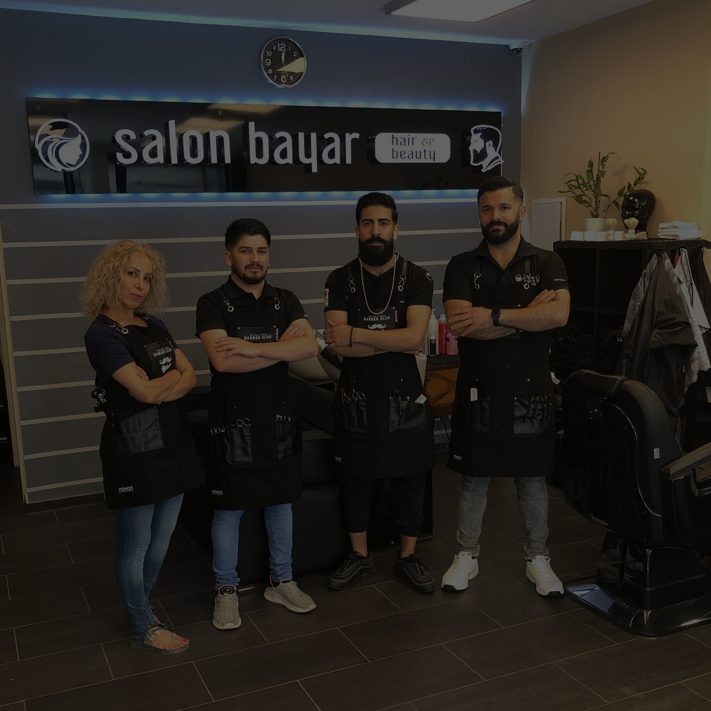 barbier team salon bayar